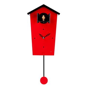 Die KooKoo - Bird House Kuckucksuhr in rot (Limited Edition)