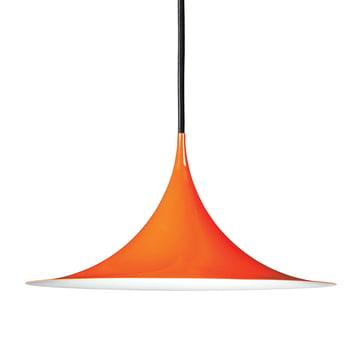 Semi Pendelleuchte Ø 47 cm von Gubi in glänzend Orange