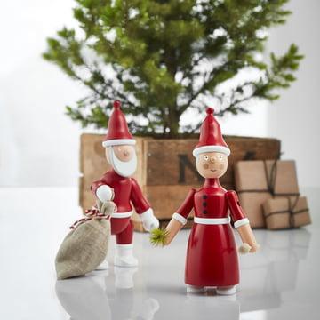 Weihnachtsfrau und Weihnachtsmann von Kay Bojesen
