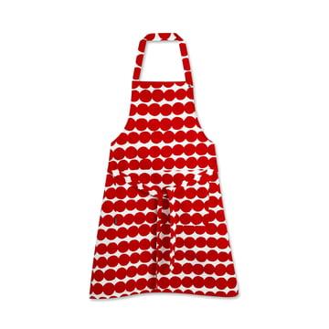 Räsymatto Schürze von Marimekko in Rot / Weiß