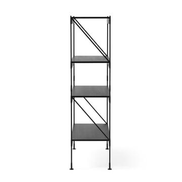 Das Menu - Zet Storing System Regal, 1 x 4 in schwarz / schwarz
