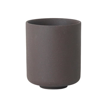 Sekki Becher large von ferm Living in Charcoal