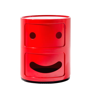 Kartell - Componibili Smile 4924, rot