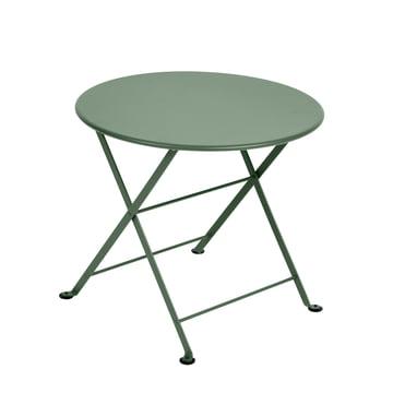 Der Fermob - Tom Pouce Niedriger Tisch in abysseblau