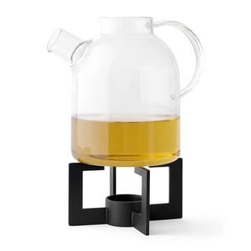 Cast Tea Heater mit Kettle Teekanne von Menu