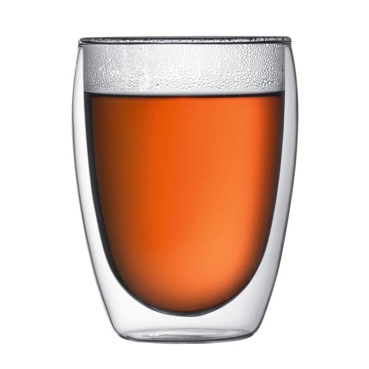 Pavina doppelwandiges Trinkglas 0.35 l (2er Set) von Bodum