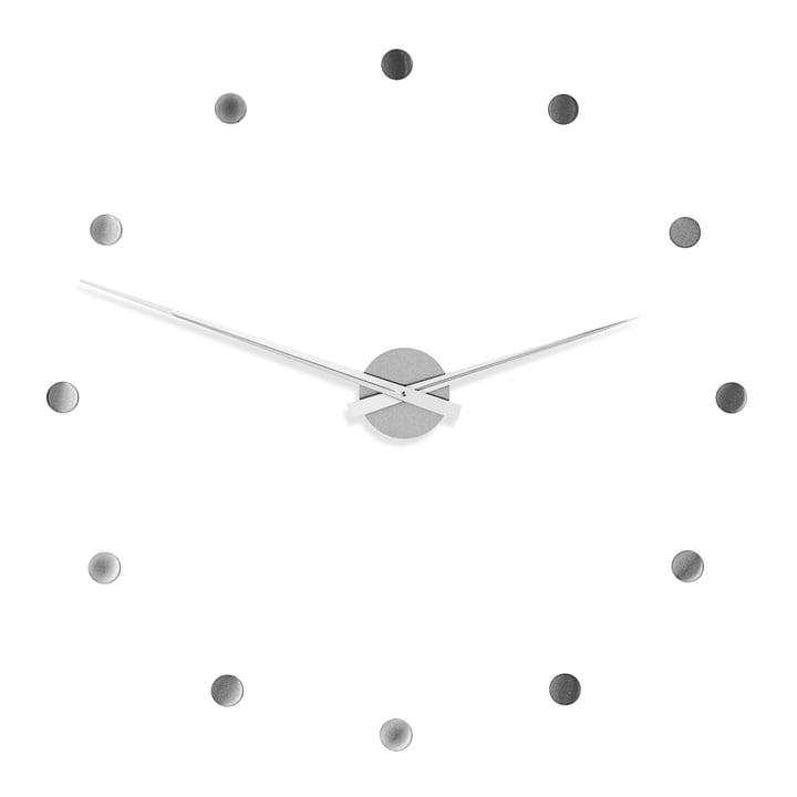 Radius Design - Flexible Wanduhr in Silber