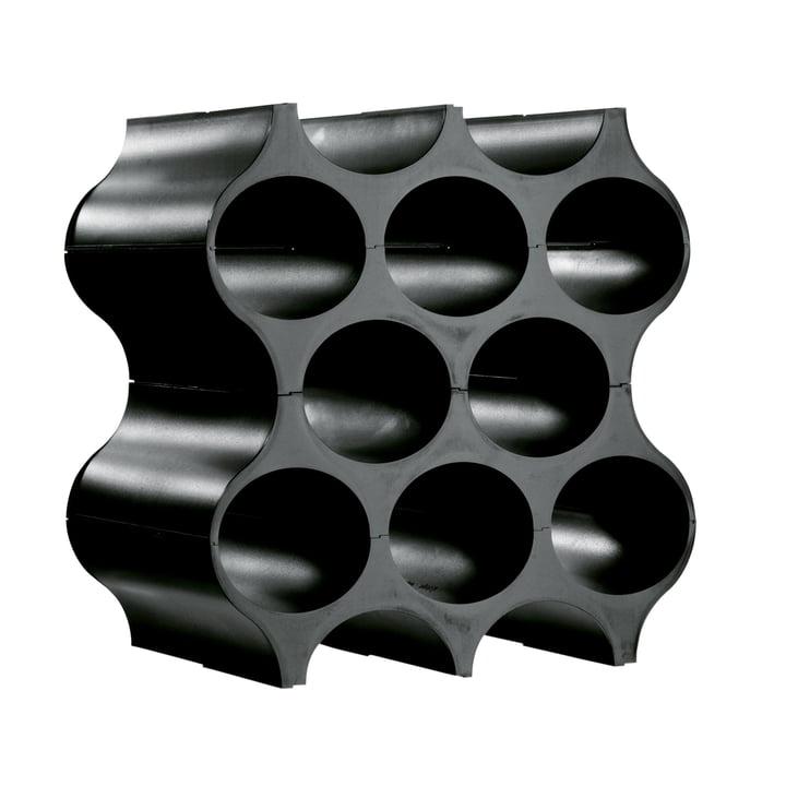 Flaschenregal Set Up - solid schwarz