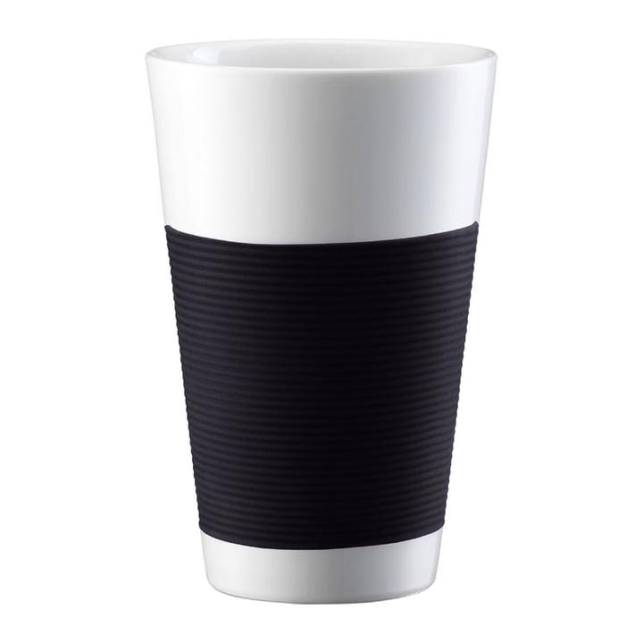 Bodum Canteen - Tasse, doppelwandig 0,35L - schwarz