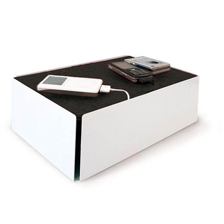 Charge-Box - weiss / schwarz