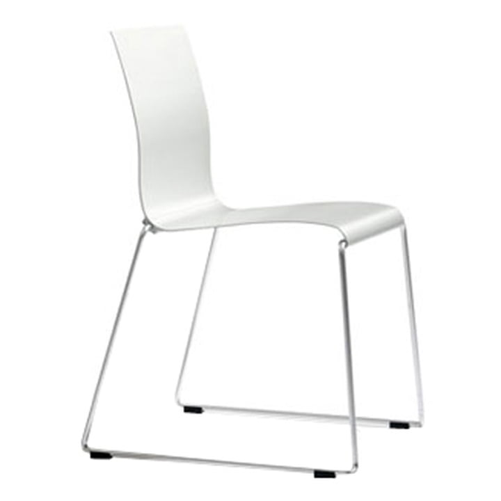 Sting 030 - Sitzschale Aluminium, natur-silber anodisiert