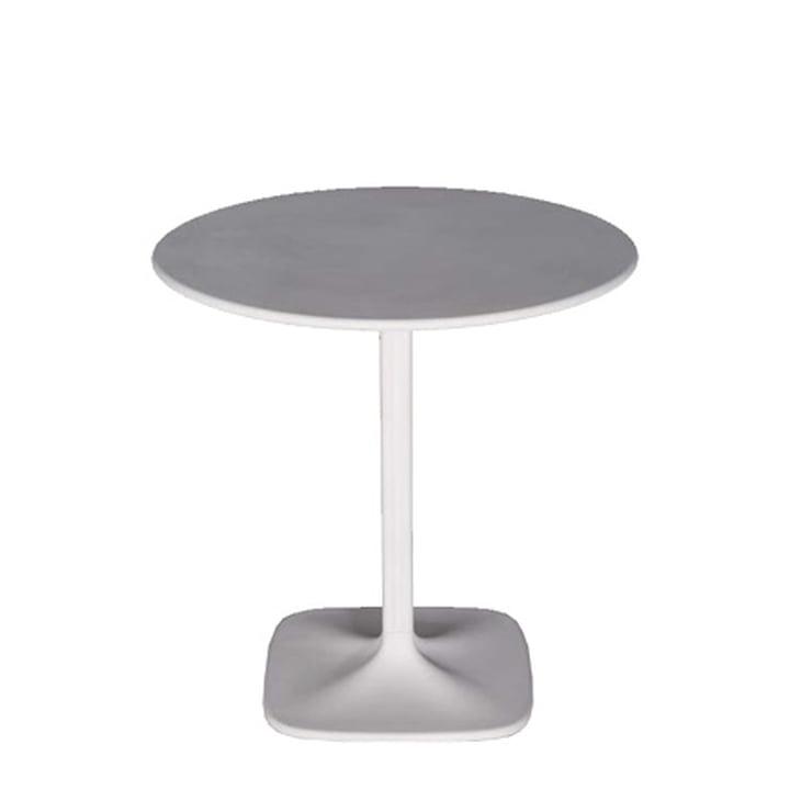 Supernatural Tisch, rund - weiss