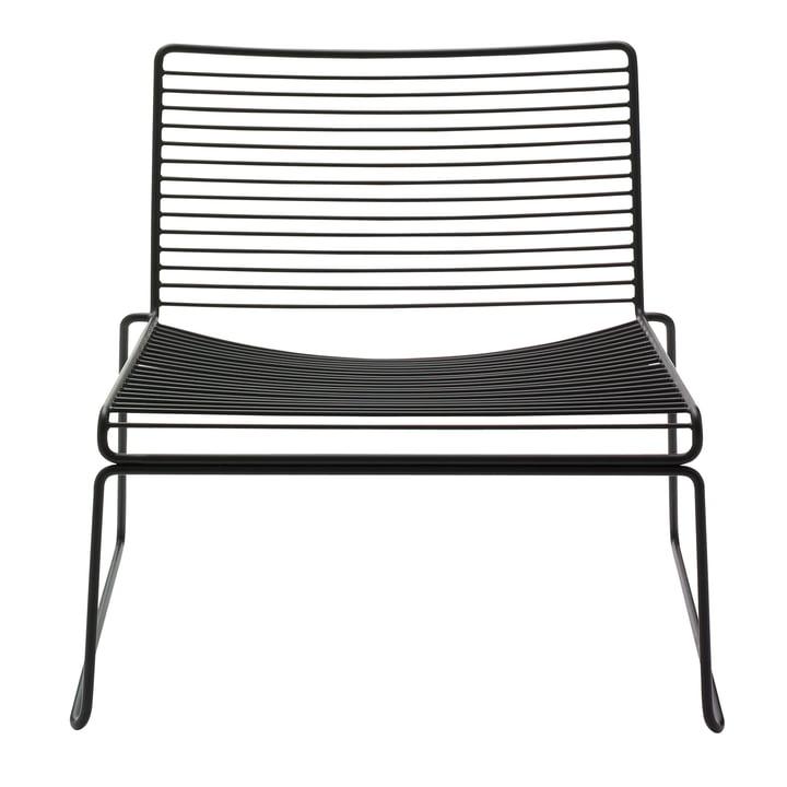 Hee Lounge Chair von Hay in Schwarz