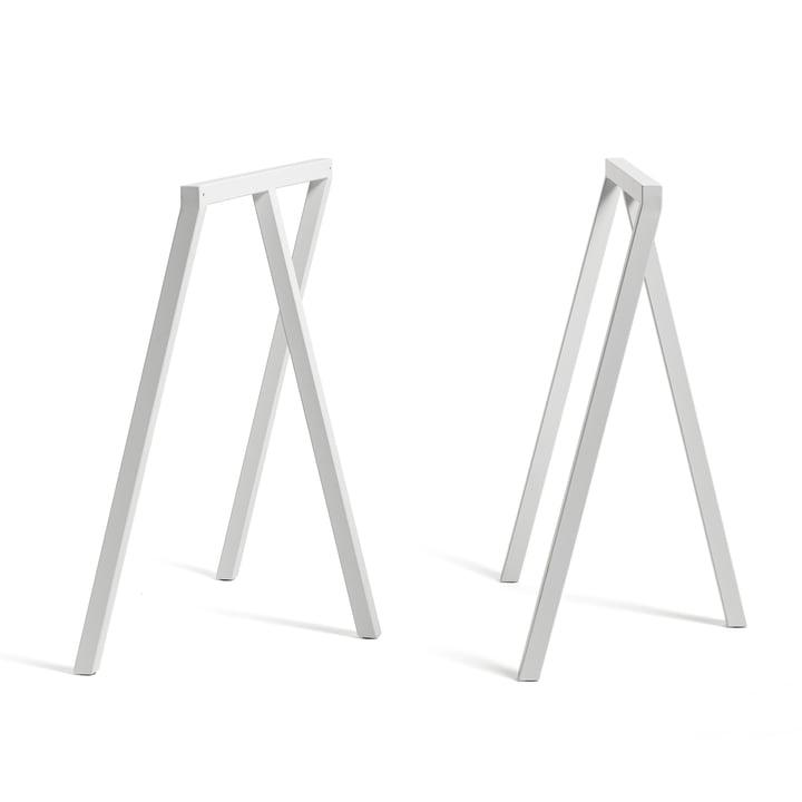 Loop Tischböcke Stand Frame von Hay in Weiss (2 Stück)