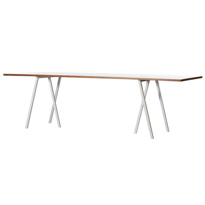 Hay Loop Stand Tisch, weiss