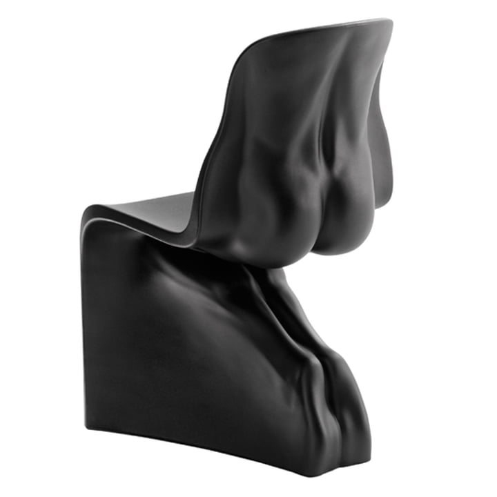 HIM Stuhl von Casamania in Schwarz matt