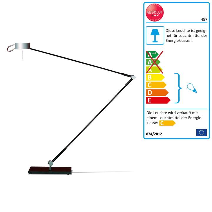 Absolut Lighting - Schreibtischleuchte, Standfuss, 50W