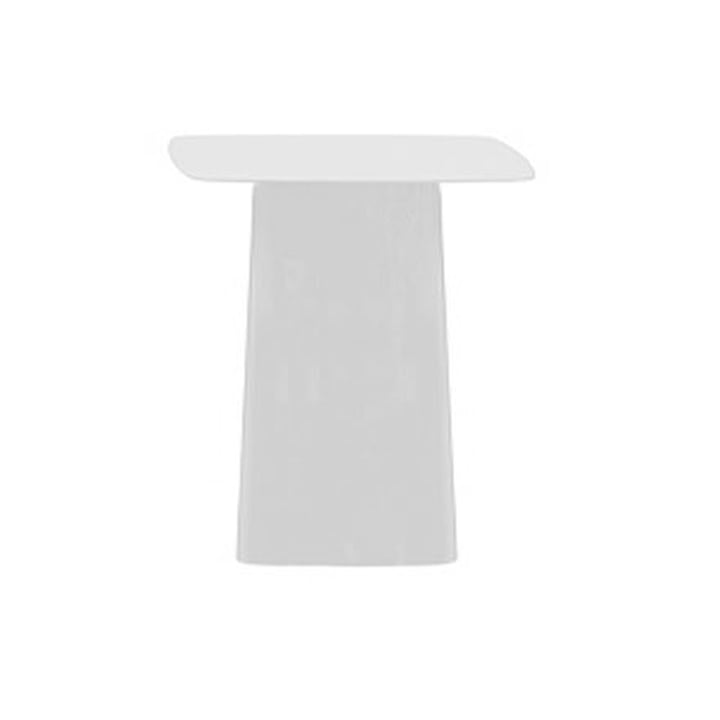 Metal Side Table (mittel) weiss