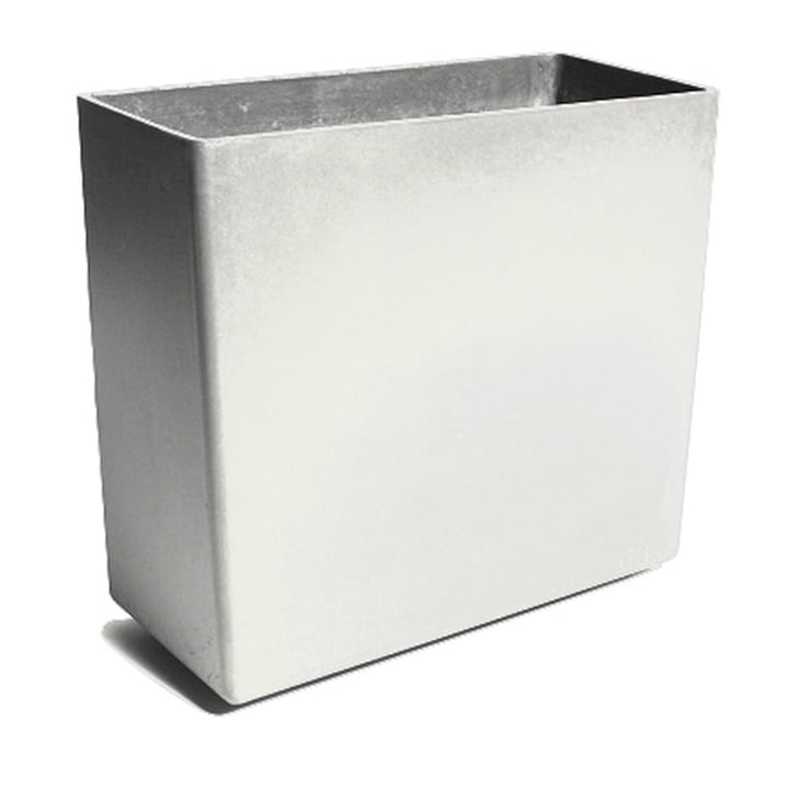 Eternit - Twista Pflanzgefäss - 60 x 30 x 60 cm, grau