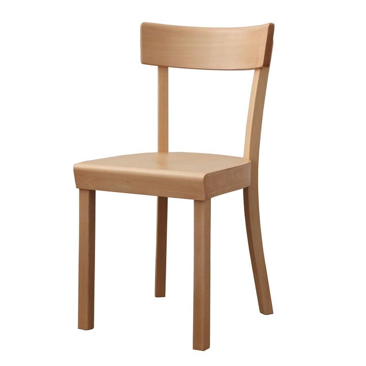 Frankfurter Stuhl von Stoelcker in Buche matt lackiert