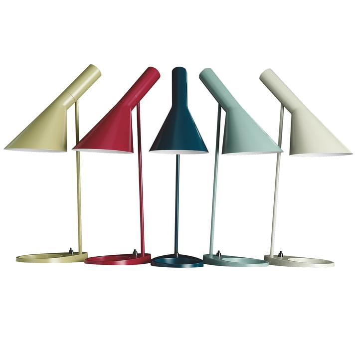 50 Jahre Arne Jacobsen Tischleuchte