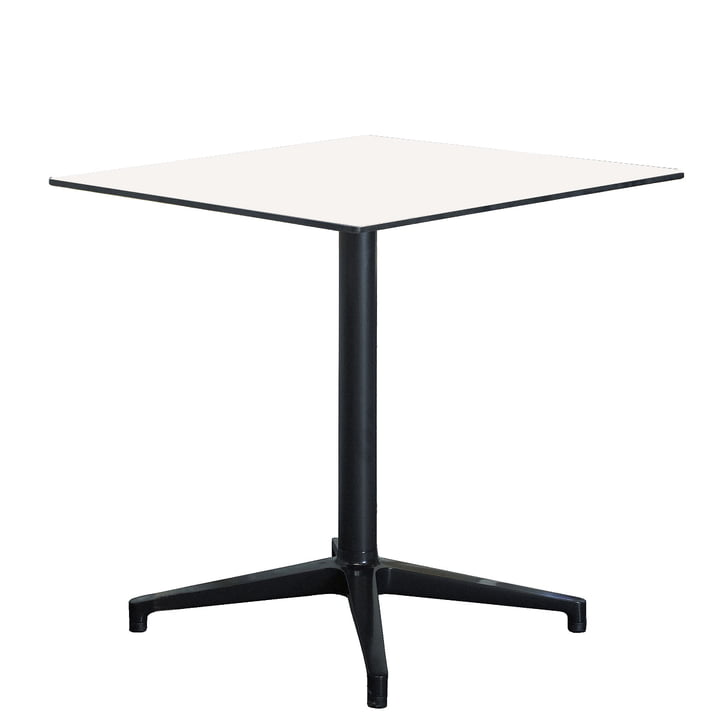 Vitra Bistro Table, rechteckig, 79,6 x 64 cm, weiss