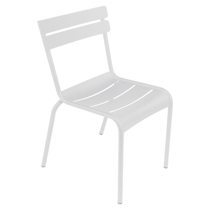 Luxembourg Stuhl von Fermob in Baumwollweiss