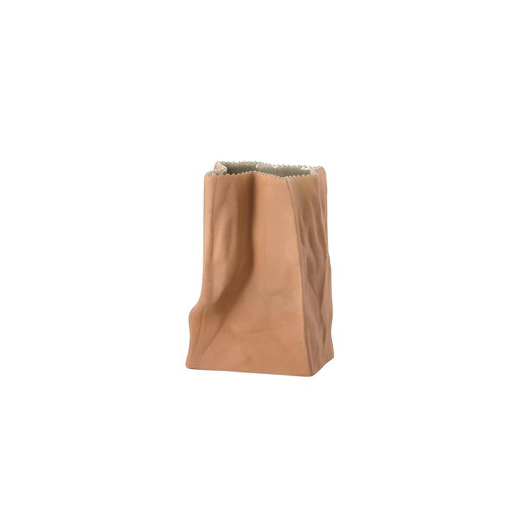 Rosenthal - Tütenvase, 14 cm, hellbraun