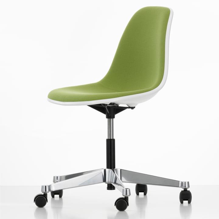 Eames Plastic Side Chair PSCC, grün