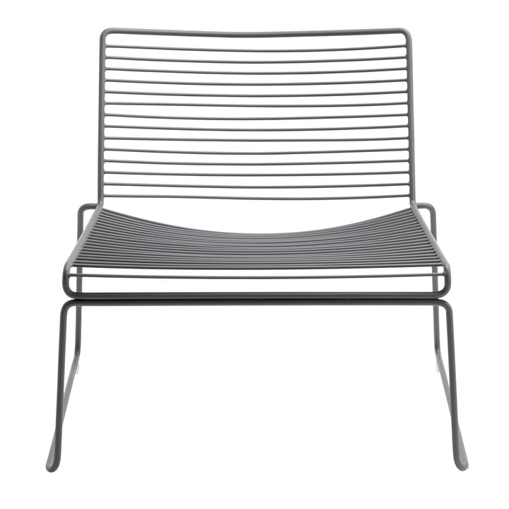 Hee Lounge Chair von Hay in Grau