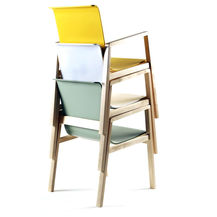 Artek - 403 Hallway Sessel, gestapelt