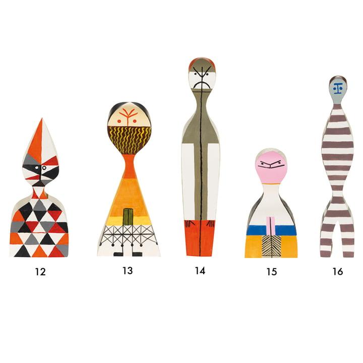 Vitra - Wooden Dolls - Gruppe 12-16