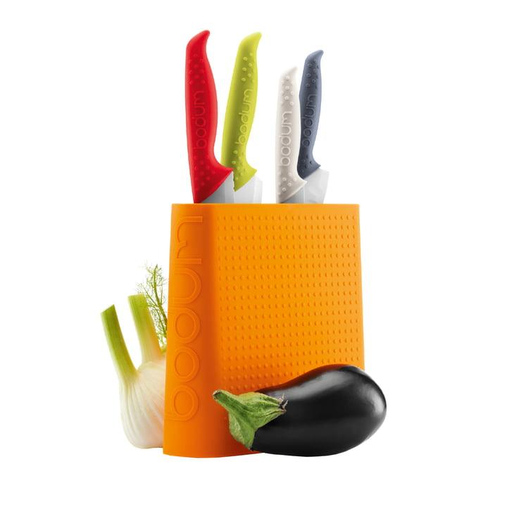 Bodum - Bistro Messerblock, orange