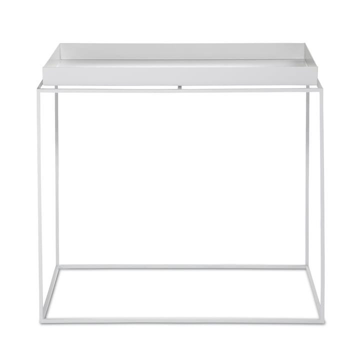 Tray Table 60 x 40 cm von Hay in Weiss