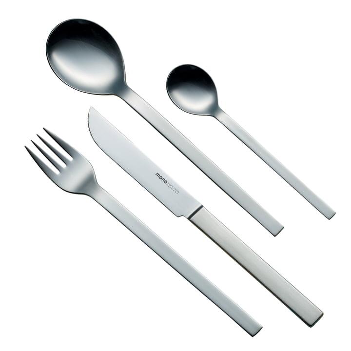 mono-a Tafelbesteck mit Messer (lange Klinge) von mono aus Edelstahl
