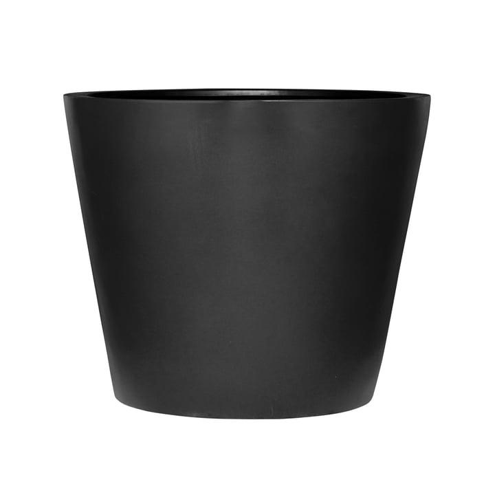 amei - Der Runde Pflanzgefäss, schwarz