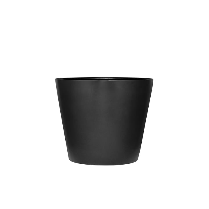 amei - Der Runde Pflanzgefäss, XXS, schwarz