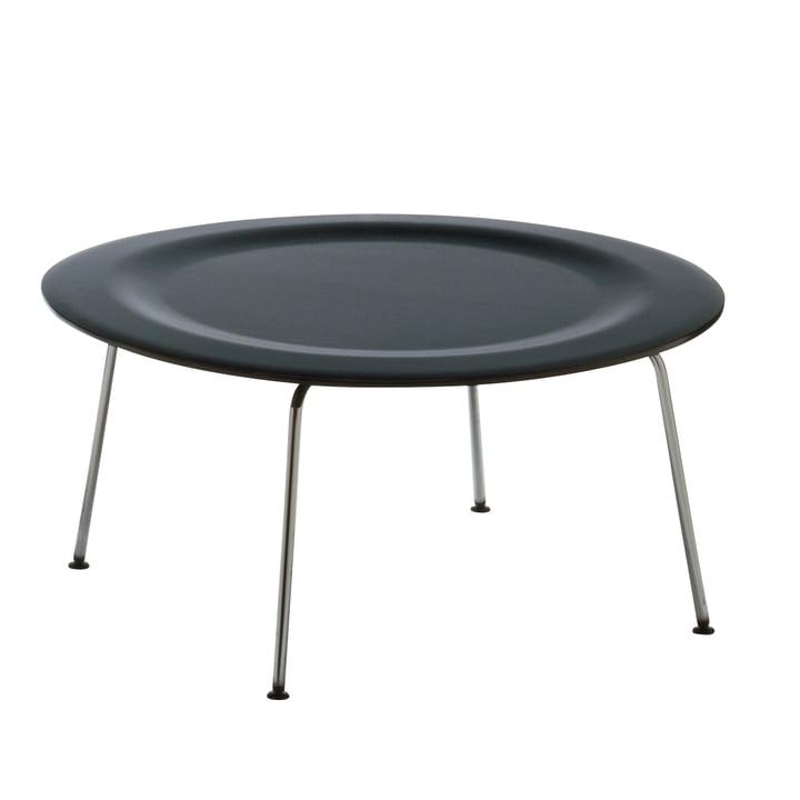 Der Vitra - Plywood Group CTM (Coffee Table Metal) in Esche schwarz