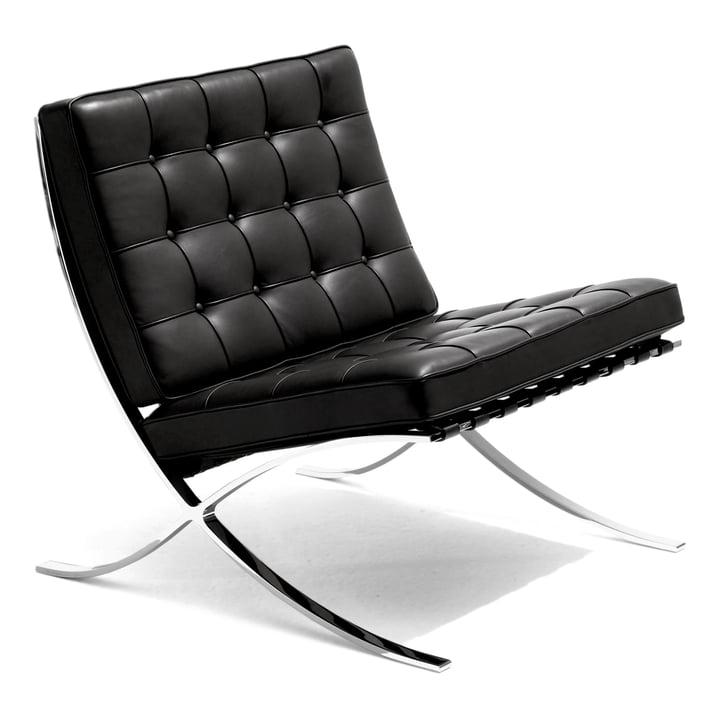 Knoll - Barcelona® Sessel, schwarz