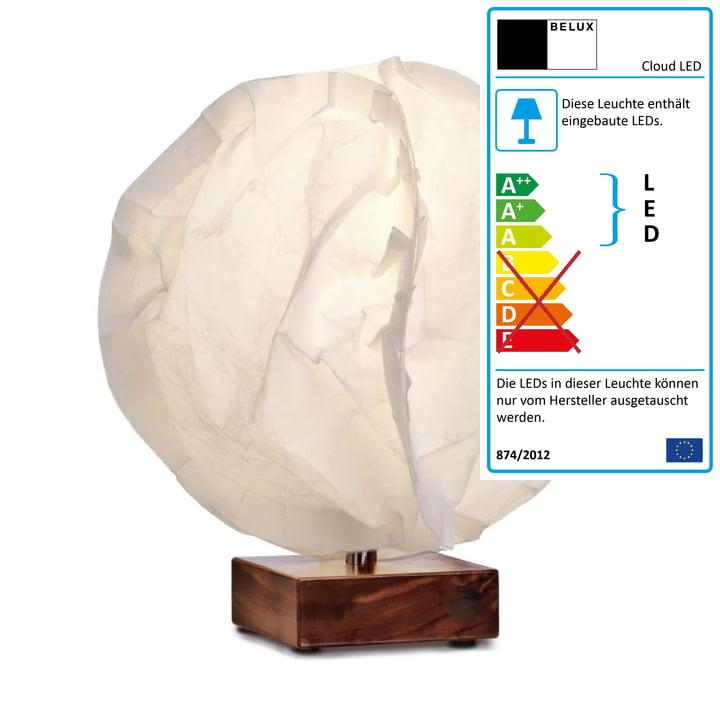 Babycloud LED Tischleuchte von Belux in Warmweiss