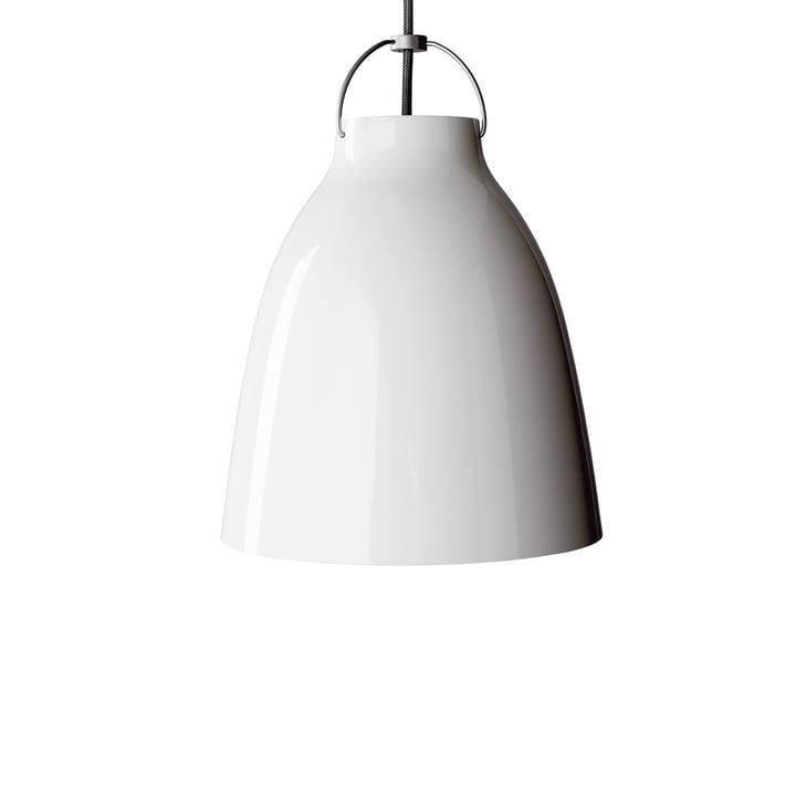 Caravaggio P1 Pendelleuchte von Fritz Hansen in glänzend Weiß