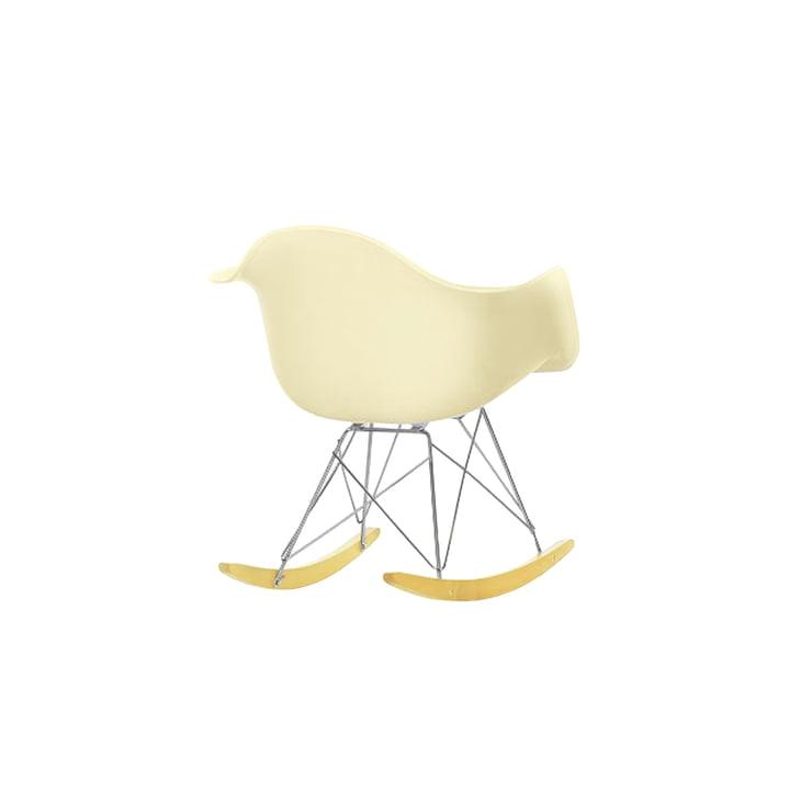 Miniatur Eames Plastic Armchair RAR von Vitra in off-white