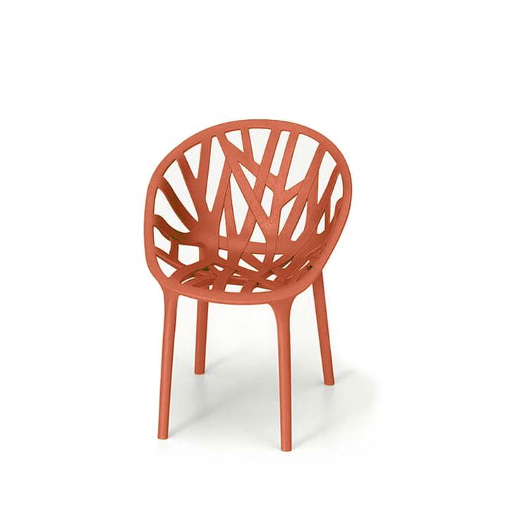 Vitra - Miniatur Vegetal Stuhl, rot
