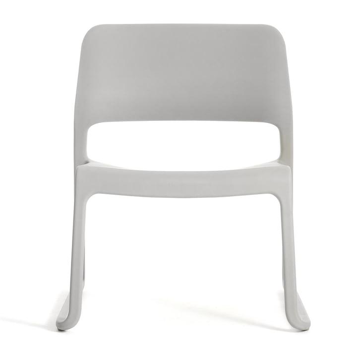 Knoll - Spark Lounge Stuhl, hellgrau