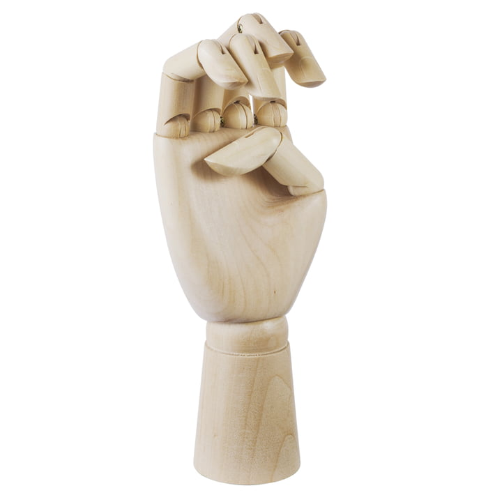 Wooden Hand in gross von Hay