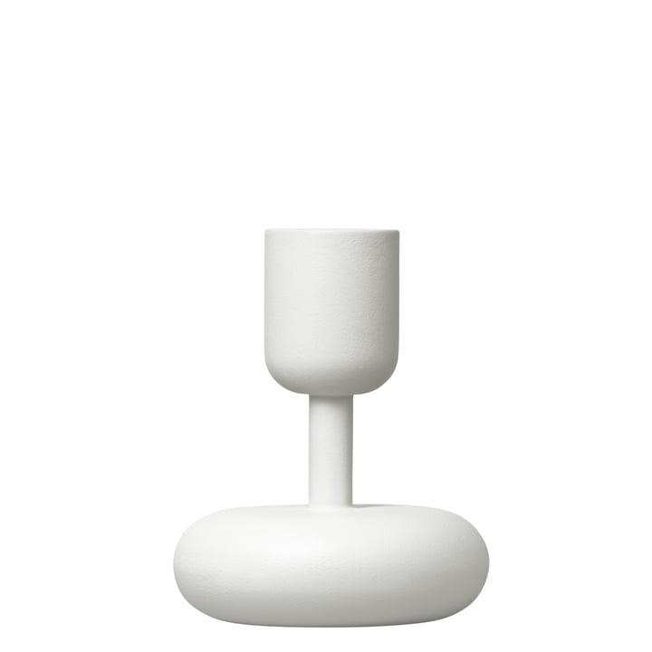 Iittala - Nappula Kerzenständer 107 mm, weiss