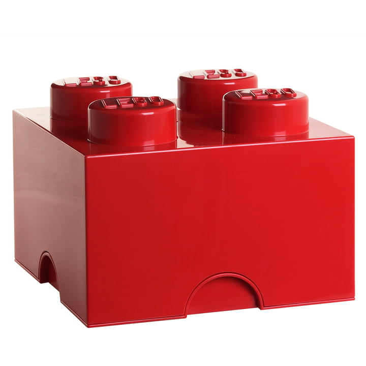 Lego - Storage Box 4, rot
