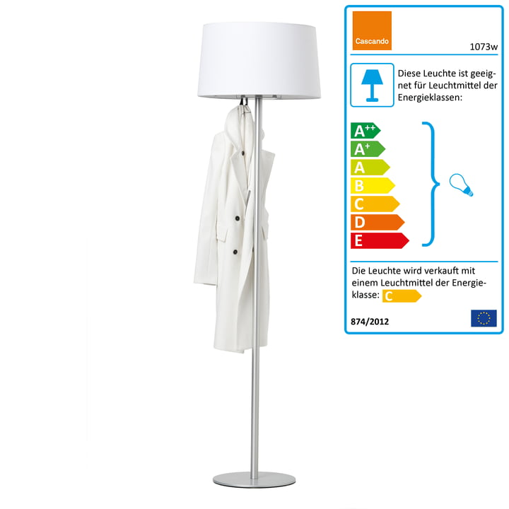 Cascando - Coat Lamp, weiss
