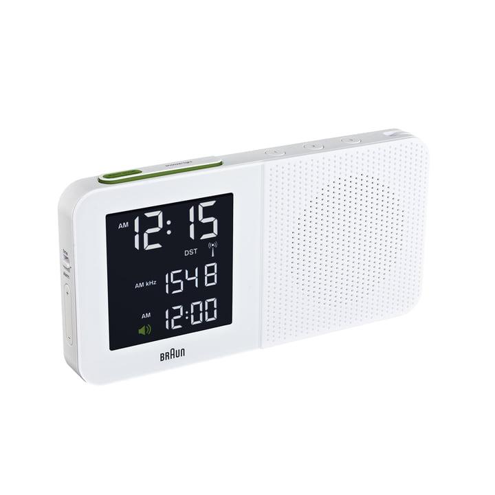 Braun - Digitaler Radiowecker BNC010, weiss