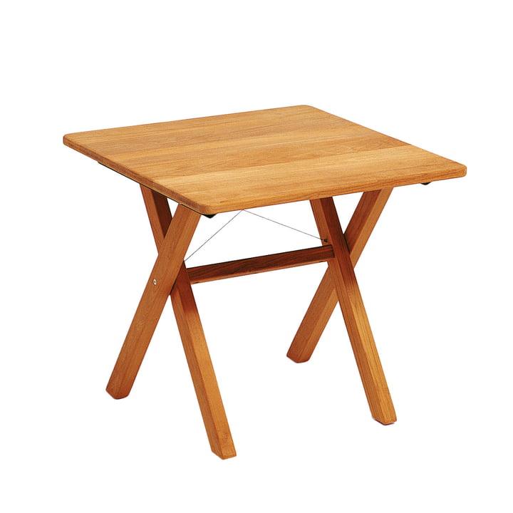 Weishäupl - Cross Table, 80 cm, Teak